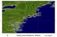 [Northeast US hurricane watch/warning breakpoints]
