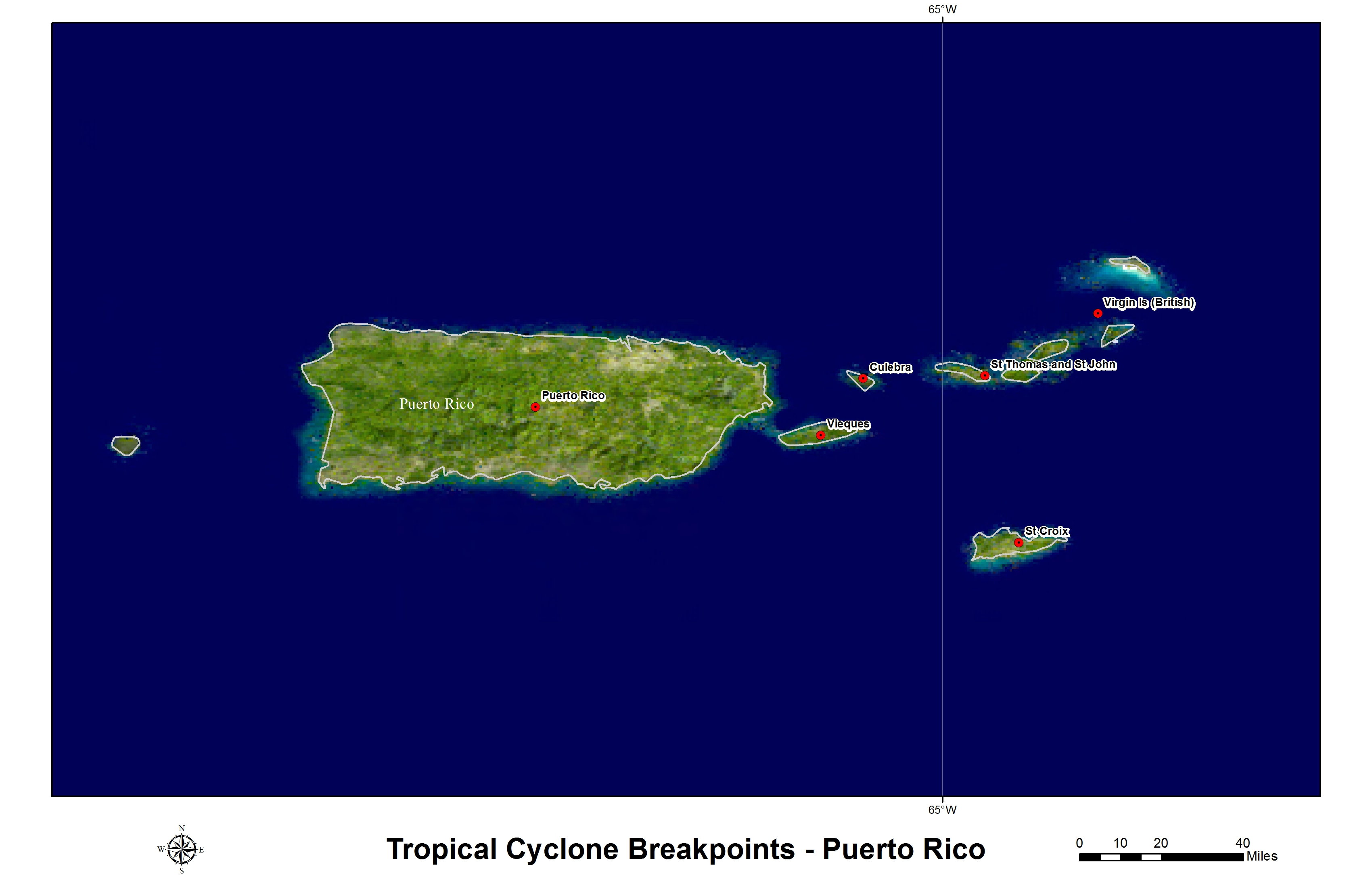 Hurricane and Tropical Storm WatchWarning Breakpoints