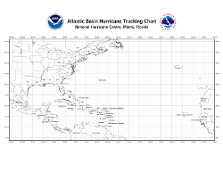 Atlantic Tropical Cyclone Tracking Chart