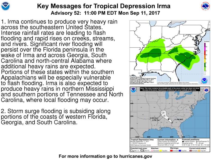 Hurricane Live Updates: Irma, Jose and Katia Threaten