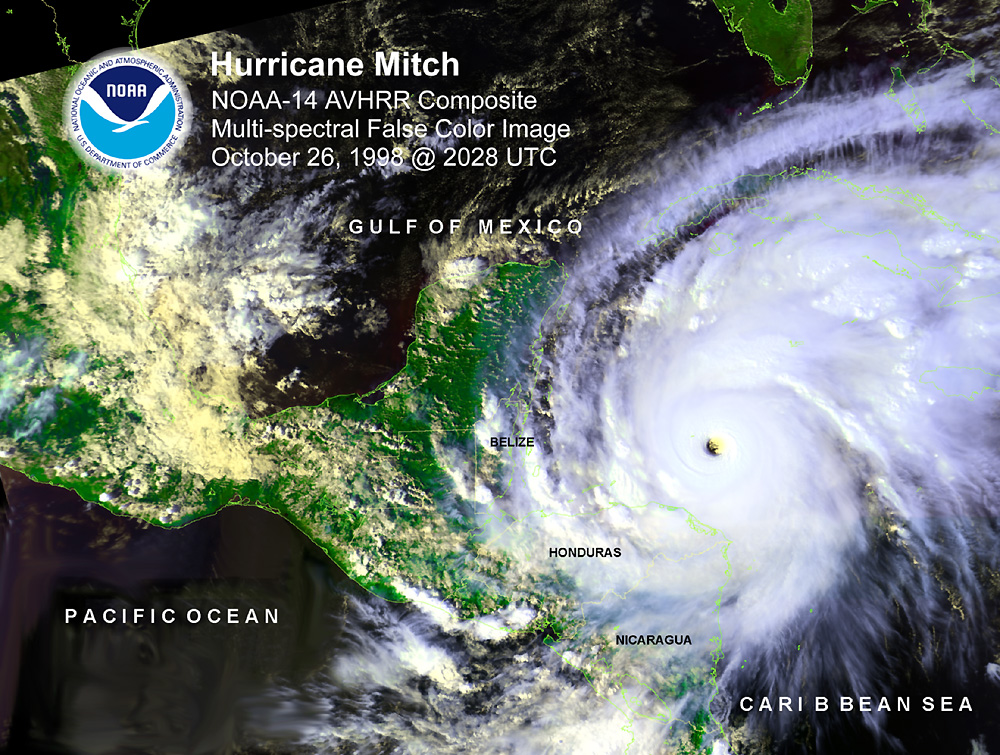 hurricane mitch News reports from mexico and central america continued to speculate about a mass migration north from central america in the wake of hurricane mitch.