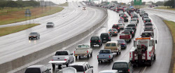 Image of Interstate Traffic in an Evacuation post by Insuranceology (804) 419-0377