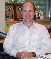 Image of Christopher Burr, Executive Officer, National Hurricane Center