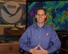 Image of Chris Juckins, Meteorologist/Programmer, Technical Support Branch at NHC
