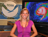 Image of Corey Walton, Meteorologist Intern, Tropical Analysis and Forecast Branch, National Hurricane Center