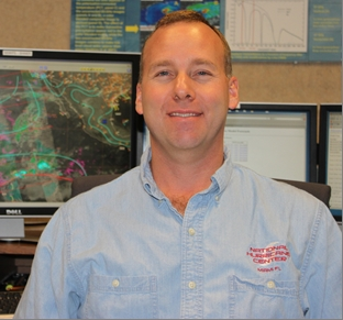 Image of Eric Christensen, Meteorologist, National Hurricane Center