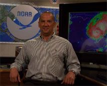 Image of Hugh Cobb, Chief, Tropical Analysis and Forecast Branch at NHC