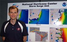 Image of Jamie Rhome, Storm Surge Unit Lead at NHC