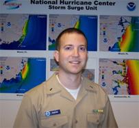 Image of Jeff Pereira, NOAA Corps Officer, National Hurricane Center
