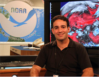 Image of John Cangialosi, Hurricane Specialist, National Hurricane Center
