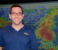 Image of Matthew Green, FEMA Hurricane Liaison Team Manager at NHC