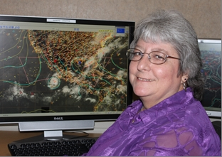 Image of Patricia Wallace, Meteorologist, National Hurricane Center