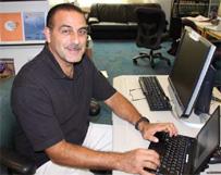 Image of Salim Leyva, Information Technology Supervisor, National Hurricane Center