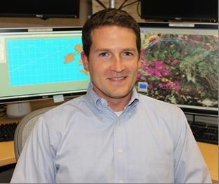 Image of Wallace Hogsett, Hurricane Specialist, National Hurricane Center