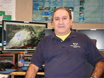Image of Wally Barnes, Meteorologist, Tropical Analysis and Forecast Branch, National Hurricane Center