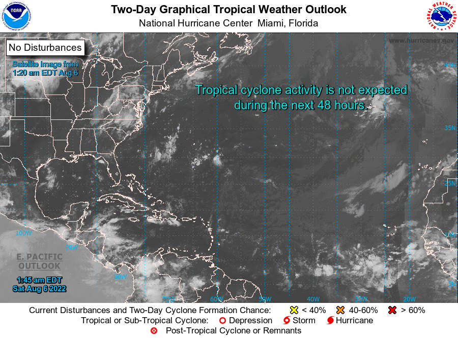 Tropical Weather Outlook - NHC