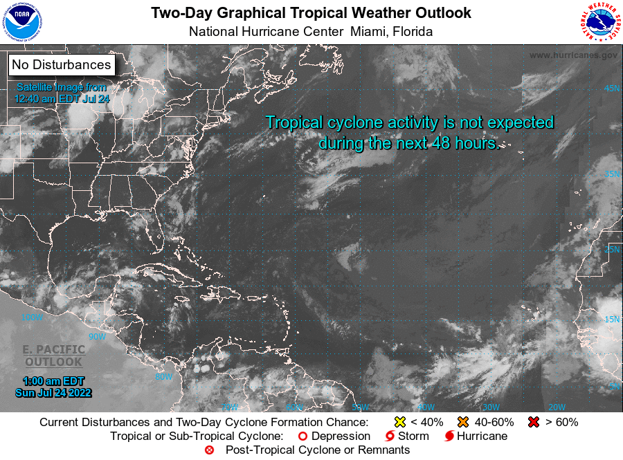 Two-Day Tropical Weather Outlook
