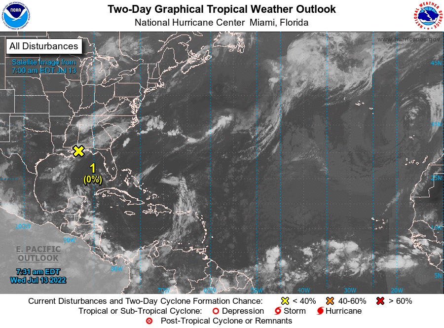 Tropical Cyclone Activity Caribbean