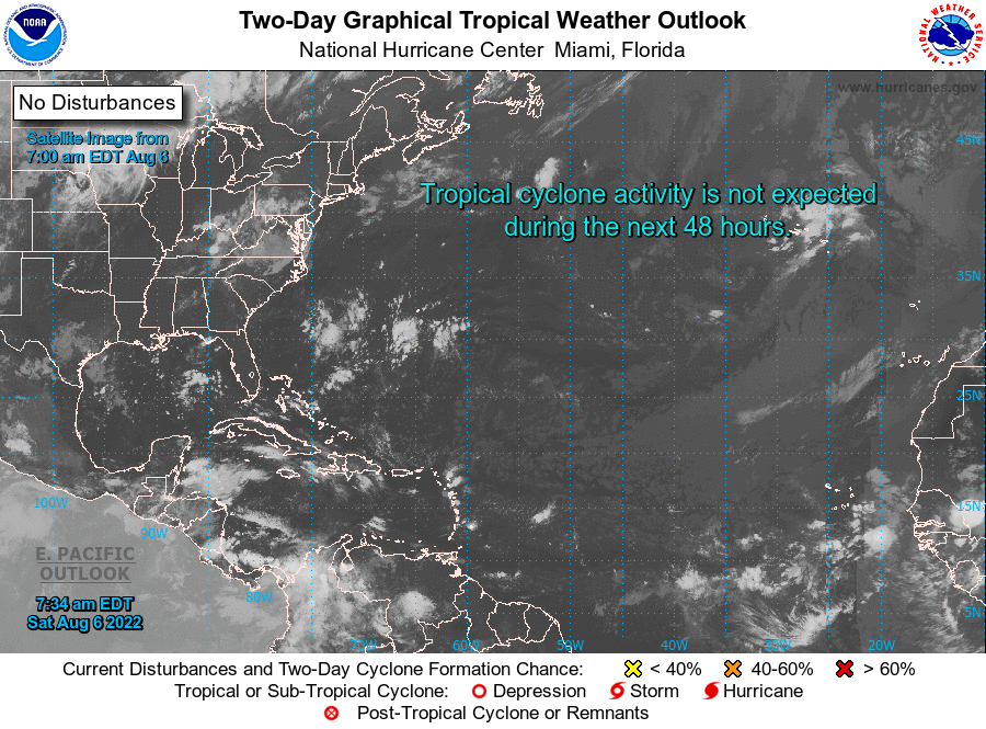 NHC 2-Day Weather Outlook