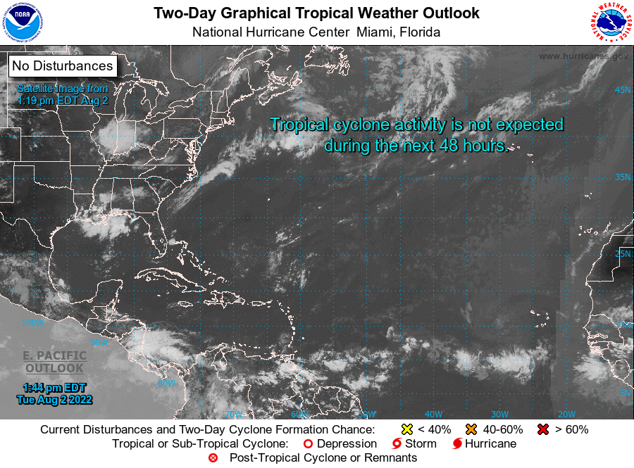 2 Day Graphical Tropical Weather Outlook