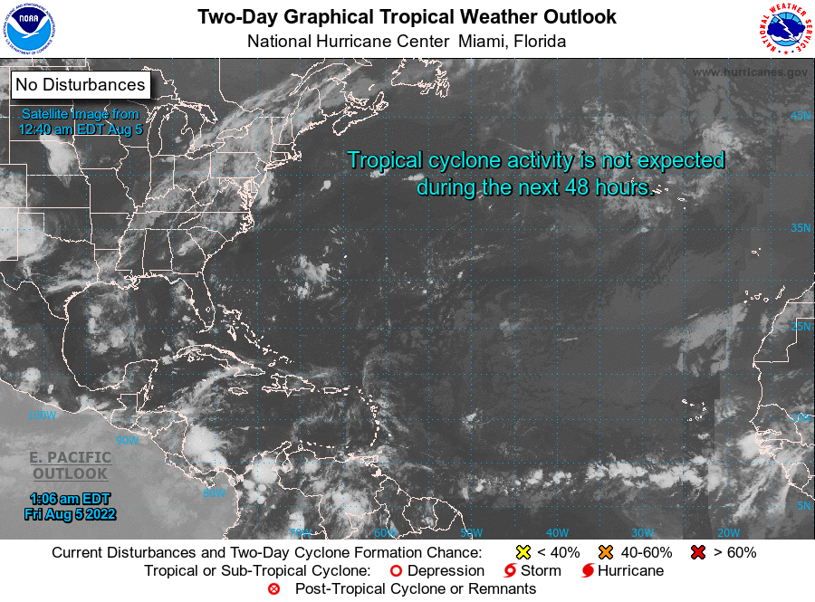 Atlantic 2-Day Graphical Tropical Weather Outlook