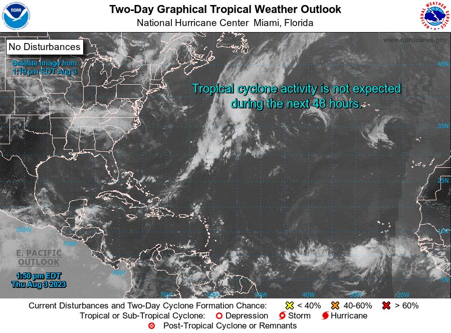 Hurricane And Tropical Storm Advisories, Weather, Radar