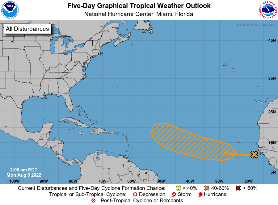 TROPICAL CYCLONE FORMATION POSSIBLE