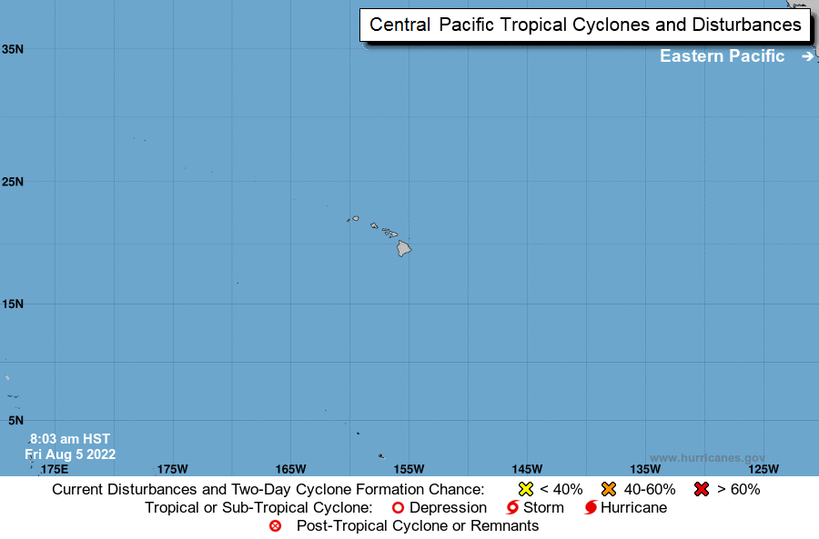 Central Pacific Graphical Tropical Weather Outlook