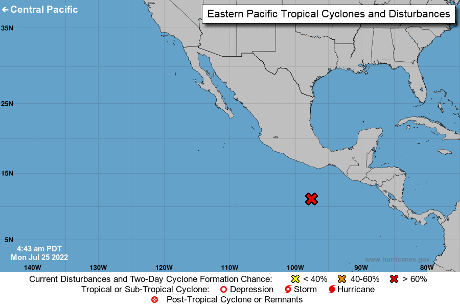 Marine Forecasts Eastern/Central Pacific