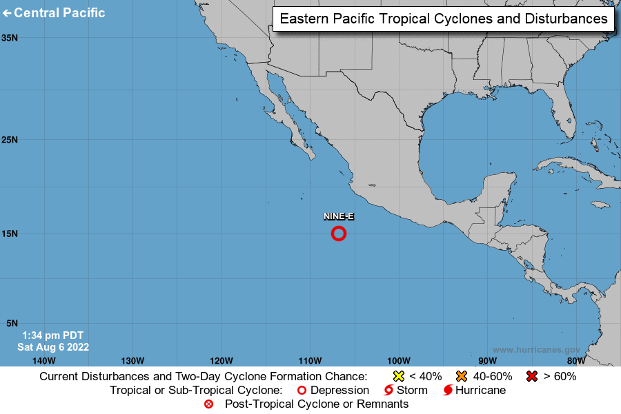 East Pacific Tropical Cyclone Activity