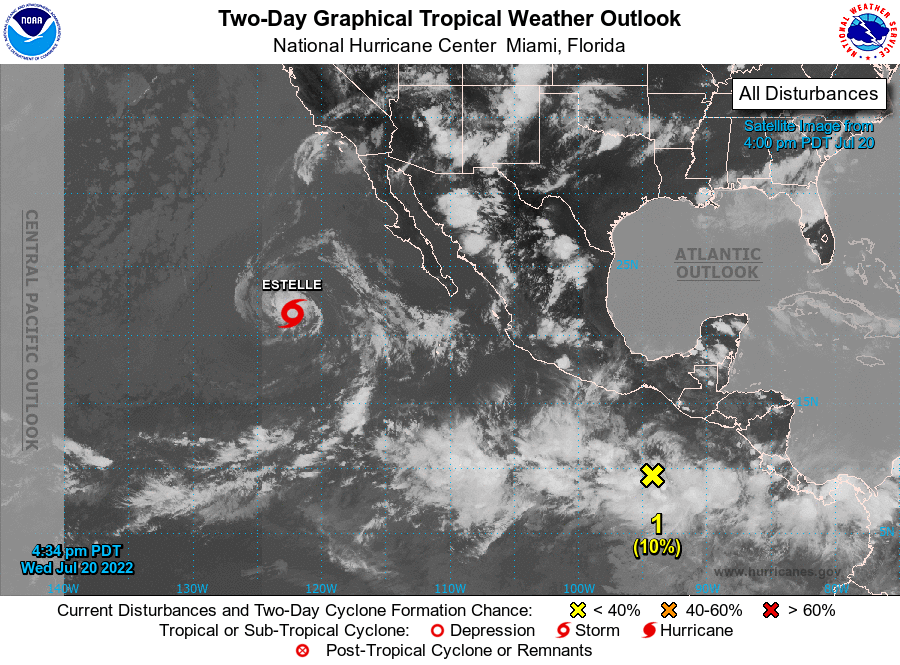 NHC's Pacific Tropical Cyclone Activity click for more...