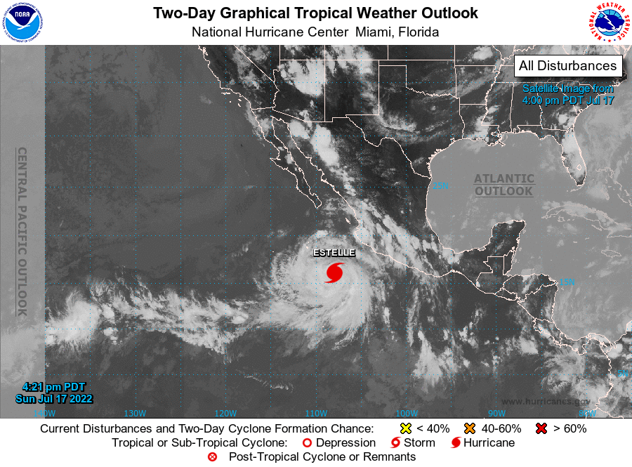 EAST PACIFIC TROPICAL ACTIVITY