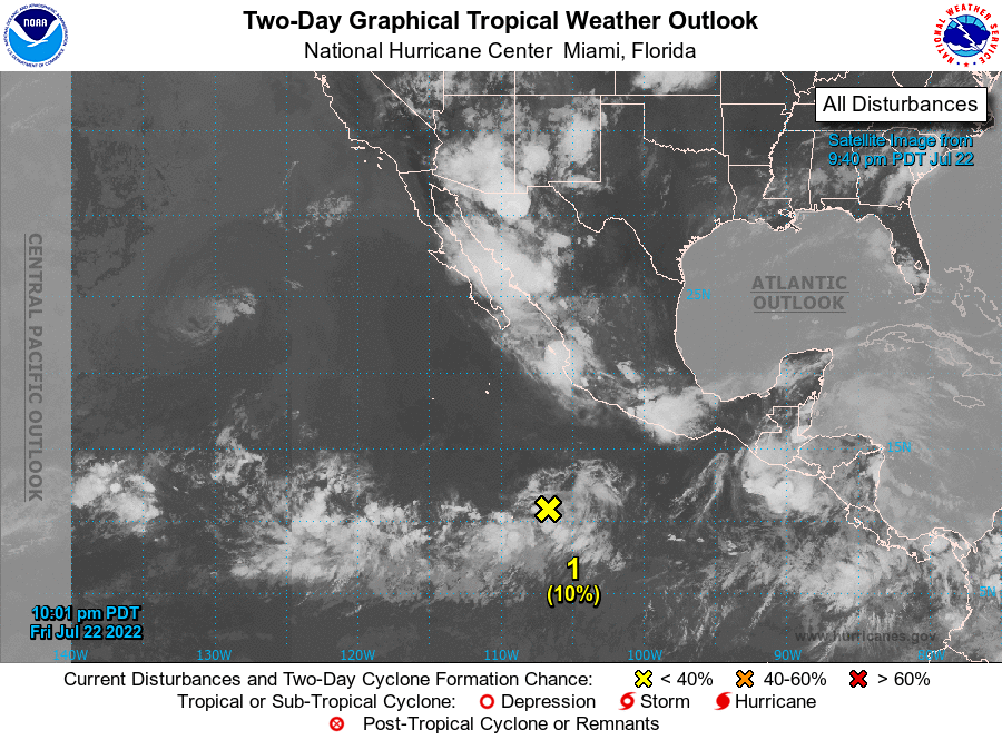 Two-Day Graphical Tropical Weather Outlook