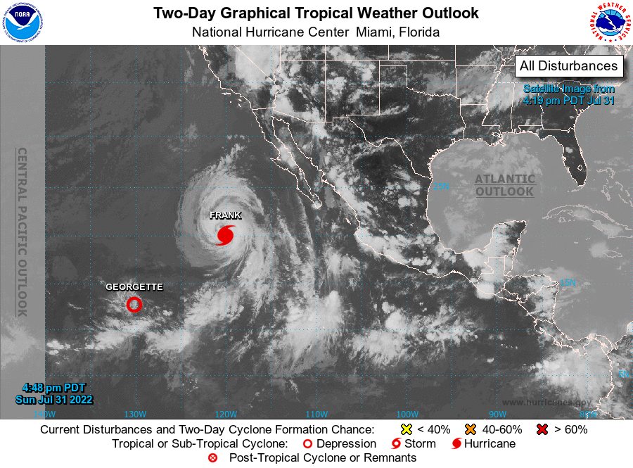 Eastern North Pacific 2-Day Graphical Tropical Weather Outlook